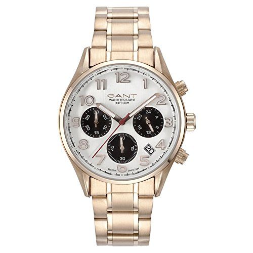 Gant Blue Hill Womens Chrono Date Quartz Miyota Stainless Steel GT008003