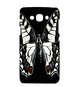 printtech Butterfly Design Back Case Cover for Samsung Galaxy J1 / Samsung Galaxy J1 J100F (2015 EDITION )