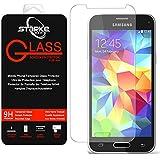 Film vitre de protection écran Samsung Galaxy S5 - Mini en verre trempé 0,26 mm haute transparence et ultra résistant (incassable, inrayable 9H) et Ultra Slim (0,26mm) avec bords arrondis - pour une protection et un confort d'utilisation optimal de votre telephone (Samsung Galaxy S5 - Mini)