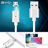 Micro USB magnétique câble de chargement adaptateur chargeur pour Samsung LG Android Sony