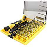 NIUTOP® 45 in 1 Professional Portable Opening Tool ~ multifunzione cacciavite kit set per Iphone 6 plus,iphone 6 5S 5C 5 4S 4,Samsung galaxy S5 S4 S3 S2,Samsung Galaxy Note 2 3 4,LG G G2 G3, Sony Xperia Z Z1 Z2, Nokia Lumia 520 625 820 920, Google Nexus 4 5, BlackBerry, HTC One X One S, Motorola Moto G,Xiaomi 2 2S 3 4,Huawei,GPS Garmin Tomtom,Tablet PC,Notebook,ipod
