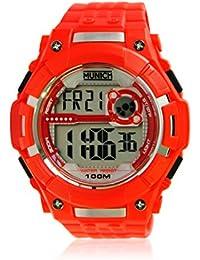 MUNICH 10 ATM Reloj con Movimiento Cuarzo japonés Man Mu+113.4A ...