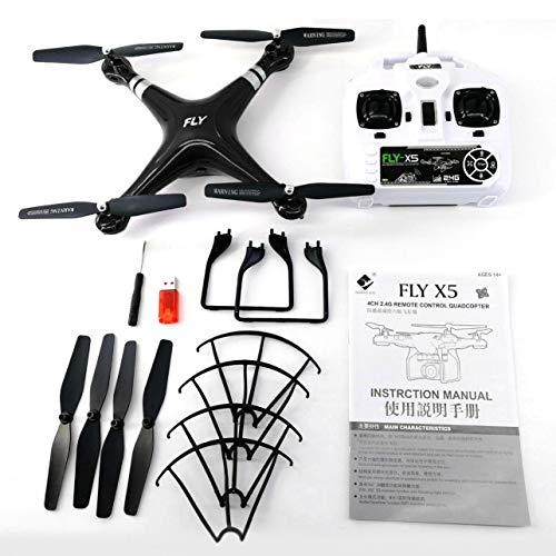 WOSOSYEYO X52 Lente Gran Angular HD cámara Quadcopter
