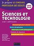 Sciences et technologie - Professeur...