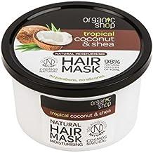 ORGANIC SHOP - Máscara Hidratante para el cabello Manteca de coco y karité
