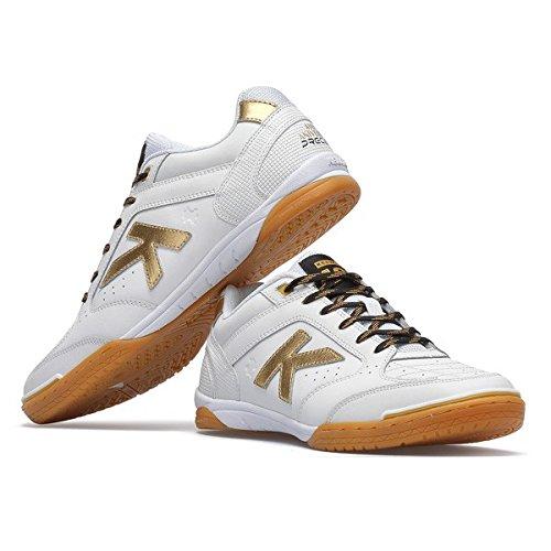 Kelme , Chaussures pour homme spécial foot en salle Blanc