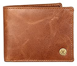 WildHorn RFID Leather Protected Wallet for Men (WH2052 TAN CRUNCH)