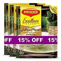 Maggi Excellence Broccoli Soup Sachet 48g (3 Sachets)