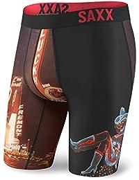 Saxx Fuse Long Leg - Hot Vegas Large