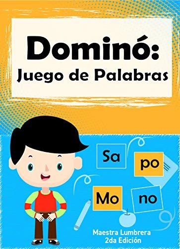 Dominó: Juego de Palabras: Fichas lúdicas para formar palabras ...