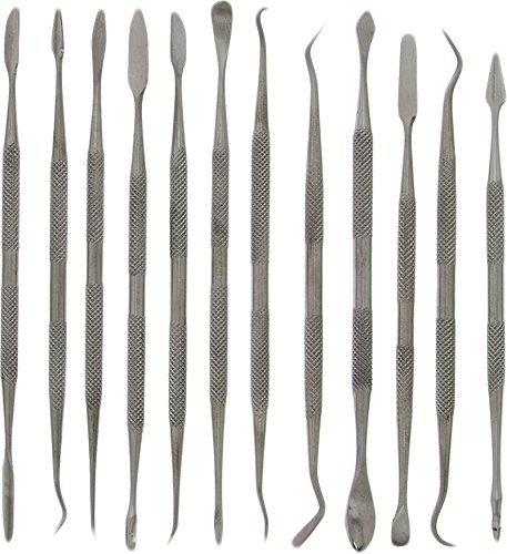 12-teiliges Wachsmodellierungsset aus Edelstahl by DELIAWINTERFEL
