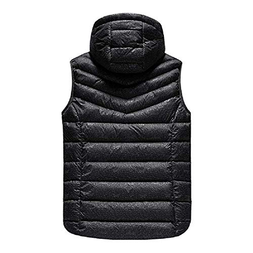 51Yx6atySGL. SS500  - OUTANY Man's Upgrade Electric Heated Vest Lightweight USB Rechagable Heating Warm Waistcoat Down Gilet