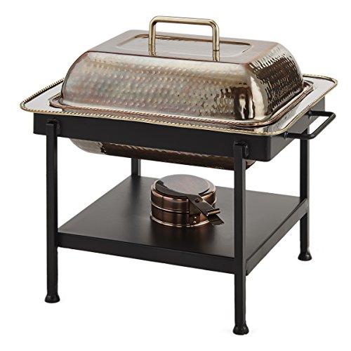 Chafing Dish Antik Kupfer gehämmert 4 Qt. Aluminium-chafing Dishes