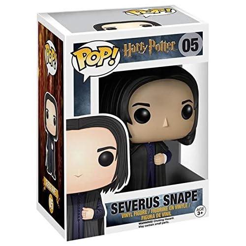 Funko - Pop! Vinilo Colección Harry Potter - Figura Severus Snape (5862) 3