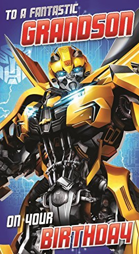 Transformers Geburtstagskarte, ()