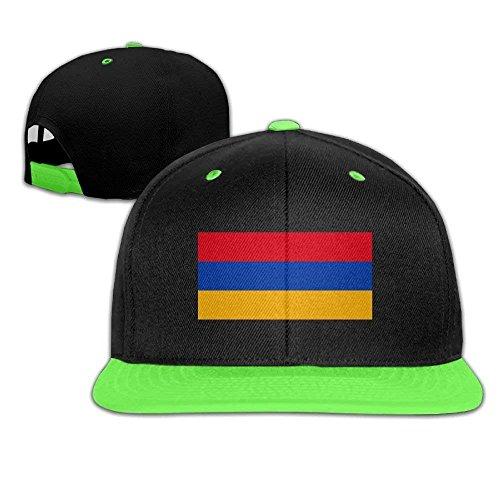 Xukmefat Armenian Flag Adjustable Baseball Cap Hip Hop Hat for Kids 0810