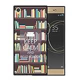 Sony Xperia XA1 Ultra Hülle, WoowCase Handyhülle Silikon für [ Sony Xperia XA1 Ultra ] Keep Calm and Read a Book Hand