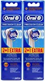 Braun Oral-B Precision Clean Refill Replacement Rechargeable Toothbrush Heads 6 In Pks