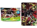 Unbekannt 91,4 x 60,9 cm Großes Turtles Puzzle 45 Teile Ninja Turtels Kinderpuzzle XXL