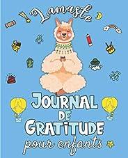 Lamaste - Journal de Gratitude pour enfants: Carnet pour cultiver le bonheur, développer la confiance en soi e