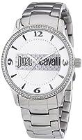 Just Cavalli R7253127502 - Reloj analógico de cuarzo para mujer con correa de acero inoxidable, color plateado de Just Cavalli