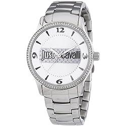 Just Cavalli Damen-Armbanduhr Huge Analog Edelstahl R7253127502