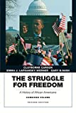 The Struggle for Freedom: A History of African Americans, Concise Edition, Combined Volume (Penguin Academic Series)
