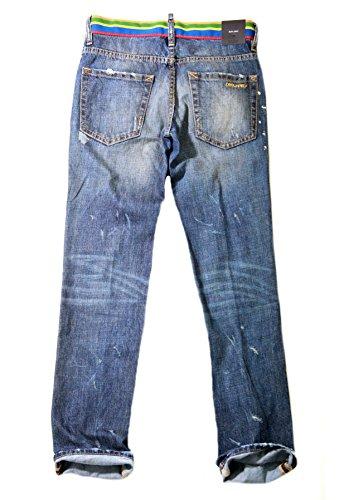 Dsquared2 Jeans Original Designer Herren Boys Jungen Gr.42 S74LA0386