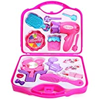 Ruhani Toys & Gift Gallery Kids Dukaan Beauty Set for Girls (Pink)