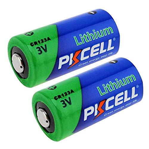 CR123A DL123A CR17335 Lithium-Foto-Batterie, 1500 mAh, 3 V, 2 Stück -