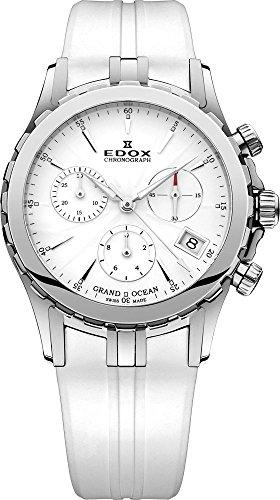 Edox Grand Ocean Chronograph Chrono Lady 104103AIN