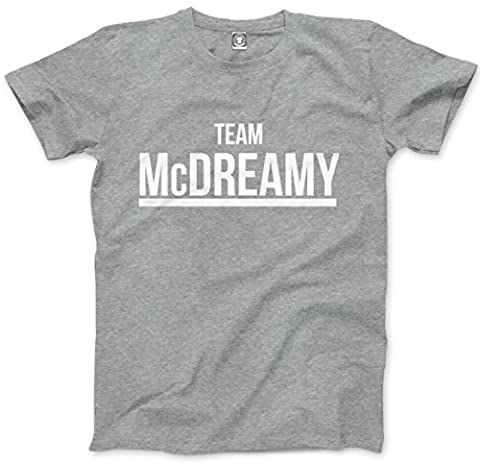 Team McDreamy - Mens Unisex T-Shirt - It's a Beautiful Day To Save Lives greys anatomy McDreamy You will always be my person merchandise - M grey
