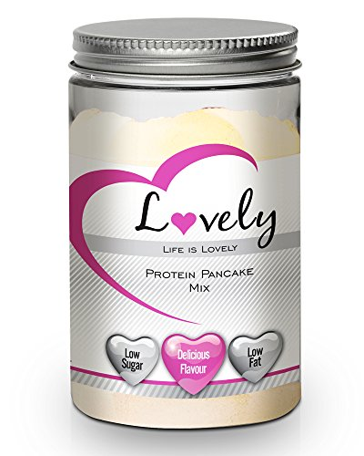 Protein Pancakes Mix-High-Protein Breakfast Treat, Our Lovely High Protein Pancake Mix with Extra Vitamins & Minerals a Delicious Taste and Fluffy Texture which Will Help You Lose Weight