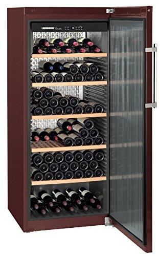 Liebherr WKT 4551 - refroidisseurs à vin (Autonome, Marron, 5-20 °C, Marron, SN-T, A+)
