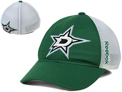 Dallas Stars Reebok CENTER ICE grün NHL Iced Meshback flex-fit Hat (S/M) Star-flex Fit Cap