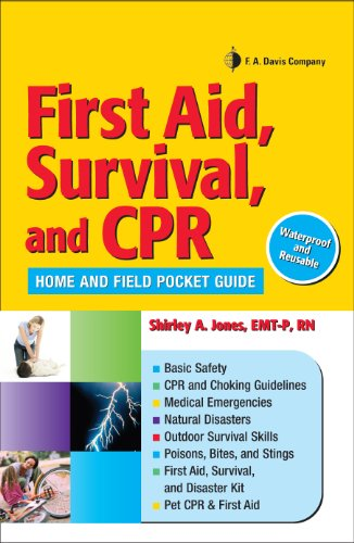 First Aid, Survival, and CPR Home and Field Pocket Guide (English ...