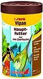sera 00150 vipan 250 ml - der Klassiker - Hauptfutter für alle Zierfische in Gesellschaftsaquarien, Flockenfutter, für schönere und größere Fische