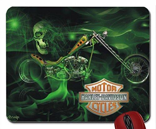 harley-davidson-green-skull-mouse-pad-computer-mousepad