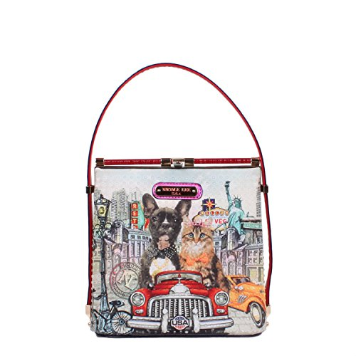 nicole-lee-sac-bandouliere-multicolore-multicolore