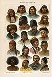 ThePrintsCollector Antique Motif Asie-Déguisement-Mongol-Portrait - 1–Asian peuples Meyers - 1895