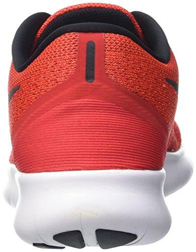 Nike  Free Rn, Gymnastique  homme Rouge (Rouge/Noir/Blanc)