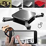Jiayuane Upgraded S1 Mini Folding Quadcopter,Drone with 2 Megapixel Camera WiFi Real-time Transmission,Long Control Distance Drone for Party Aerial Photography