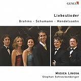 Brahms, Schumann, Mendelssohn : Liebeslieder