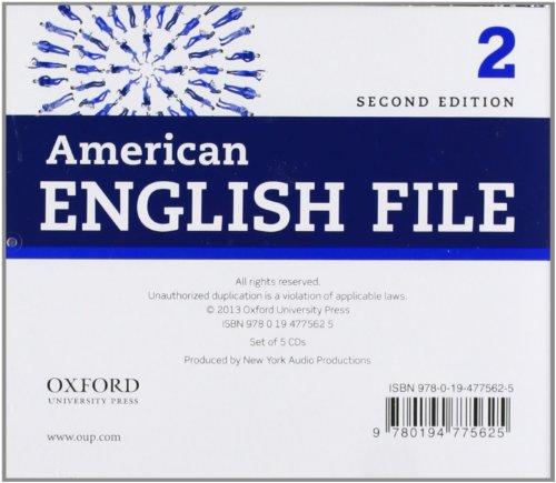 American English File 2nd Edition 2. Class Audio CD (4) (American English File Second Edition)