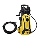 Wolf Blaster Max 2 Pro Power Pressure Washer 2200 Watt 165BAR Pump With New 'Click and Connect' System Plus Accessories Including Patio Cleaner, Car Brush, 5 Metre High Pressure Hose and 15m Extension Hose