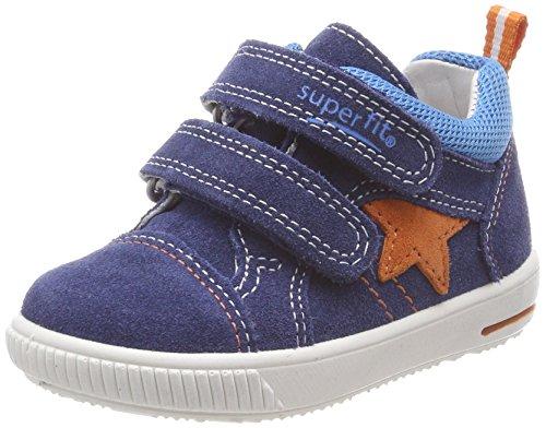 Superfit Baby Jungen Moppy Sneaker, Blau (Water Kombi), 24 EU