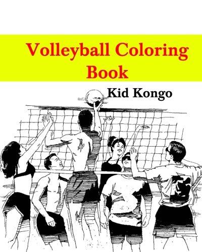 Volleyball Coloring Book por Kid Kongo