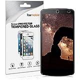 kwmobile Panzerglas Displayschutzfolie für LG Google Nexus 5 - Schutzglas Folie Schutzfolie Displayschutz Glasfolie in kristallklar