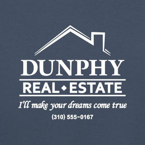 Dunphy Real Estate - Herren T-Shirt - 13 Farben Navy