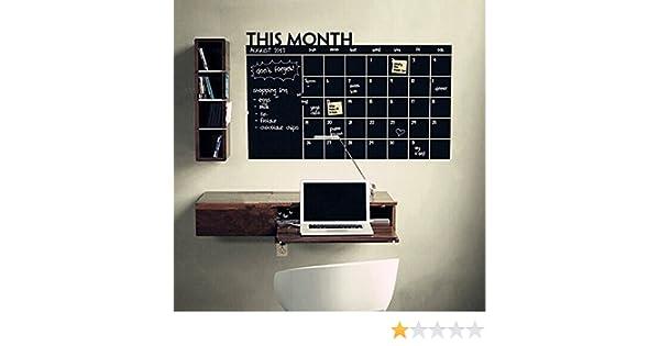 Dj Tafel Kind : Amazingdeal tafel kind studien kreide brett tafel plan kalender